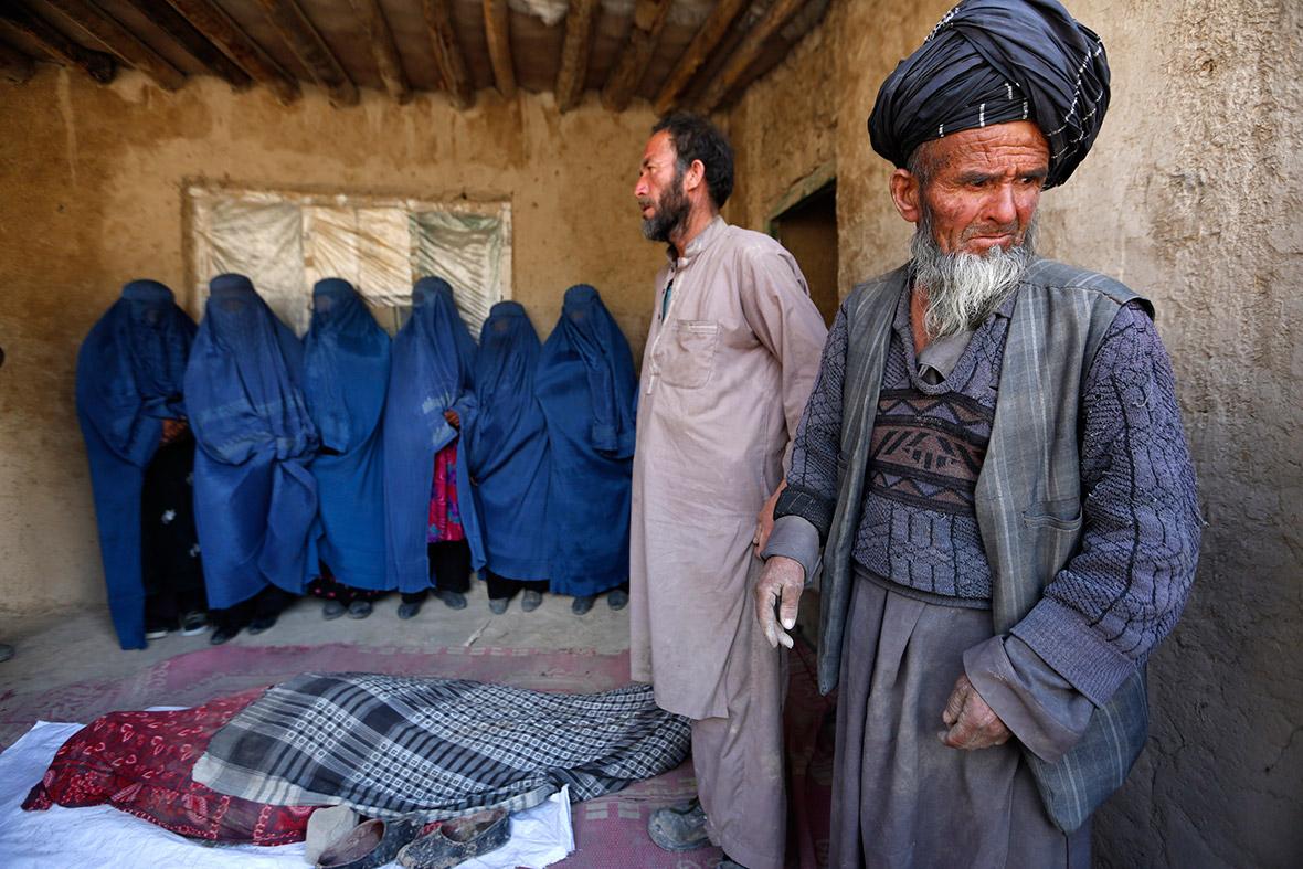 afghan landsldie
