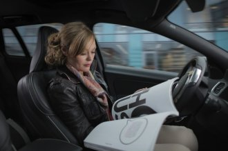 volvo driverless car