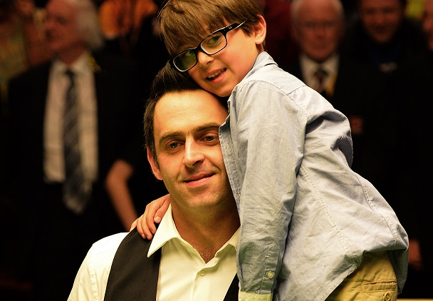 Ronnie O'Sullivan was in late-night M1 car crash with son Ronnie Jr on board, following Fina defeat to Mark Selby