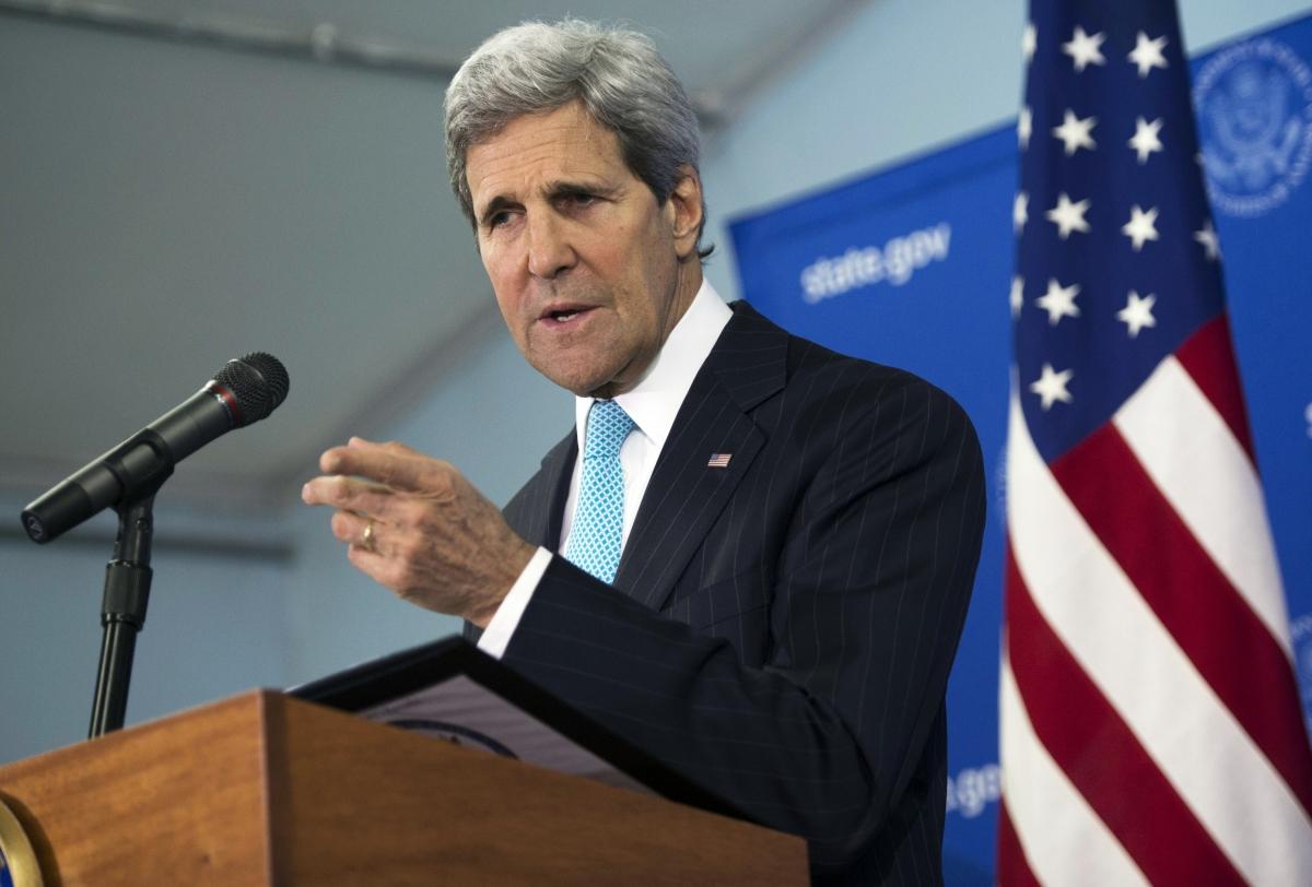 John Kerry press conference Juba