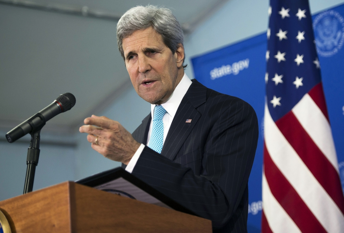 John Kerry press conference Juba