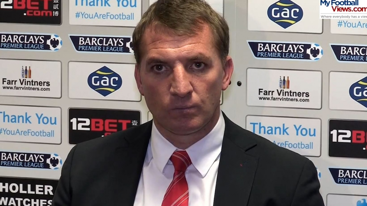 Brendan Rodgers Concedes Title to Manchester City