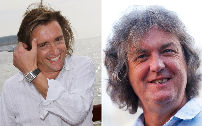 Sturdy relationship: Richard Hammond (l) and James May have done a lot together during years of Top Gear