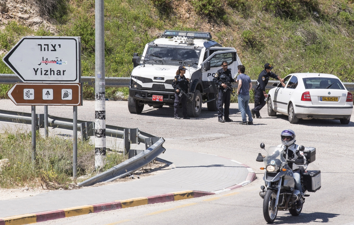 Radical Jewish Settler Killing Israeli Soldiers Arrested Yitzhar