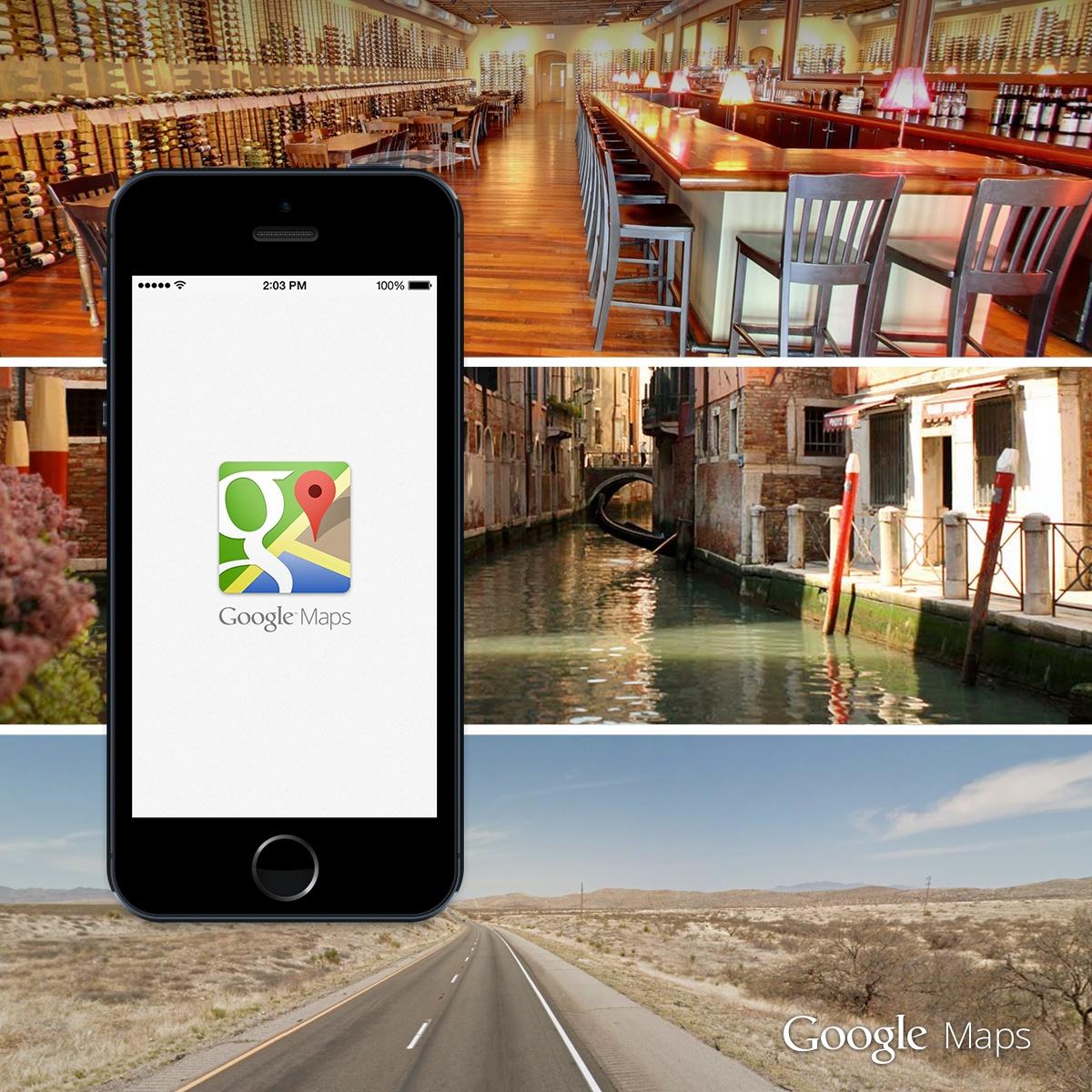 Google Maps 3.0 Offers Offline Maps, Lane Guidance, Uber Integration and More