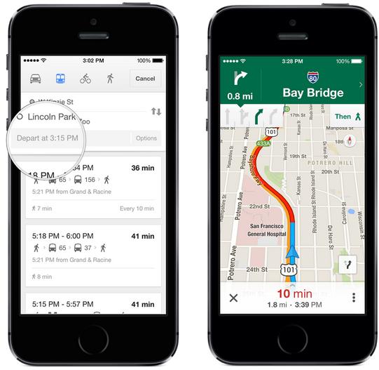 Google Maps 3 0 Offers Offline Maps Lane Guidance Uber Integration And More