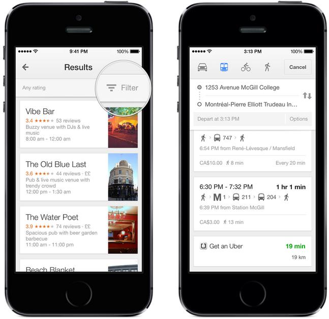 Google Maps 3 0 Offers Offline Maps, Lane Guidance, Uber