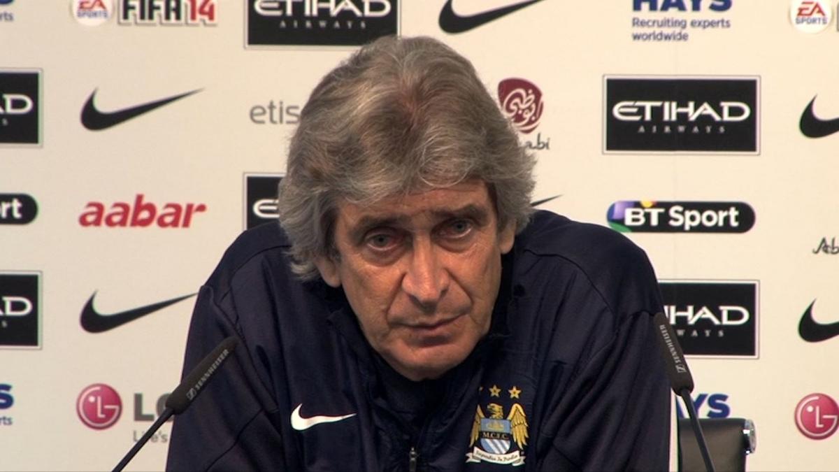 Manuel Pellegrini: We Have to Win against Aston Villa