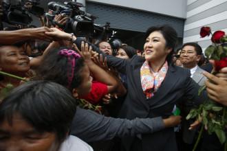 Thailand's Prime Minister Yingluck Shinawatra