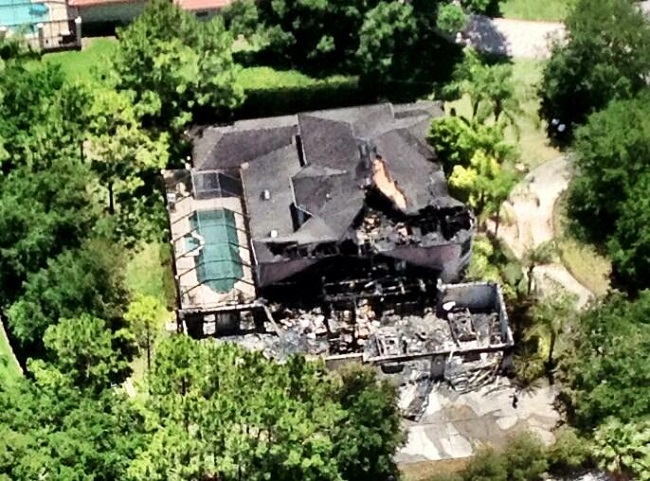 A family of four is believed to have died in the fire at James Blake's home
