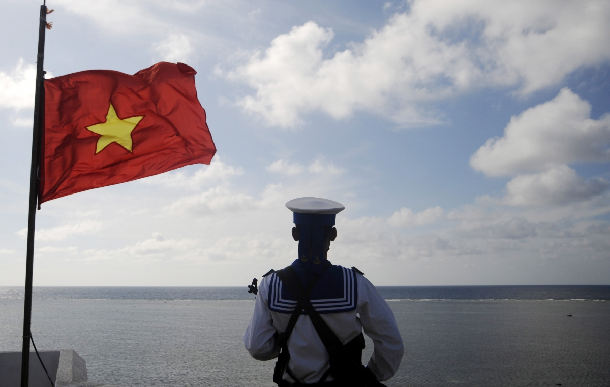 Vietnam navy South China Sea