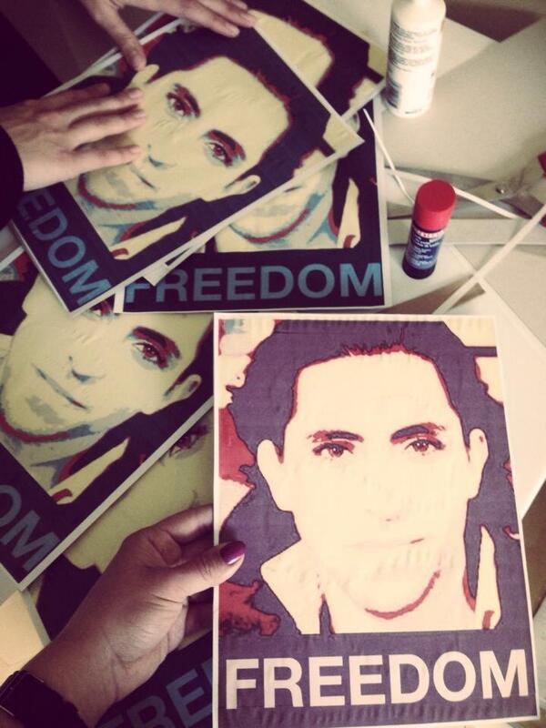 Saudi Arabian activist Raif Badaw