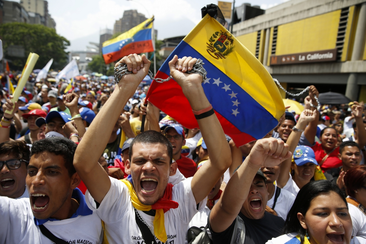 Venezuela anti-government protests