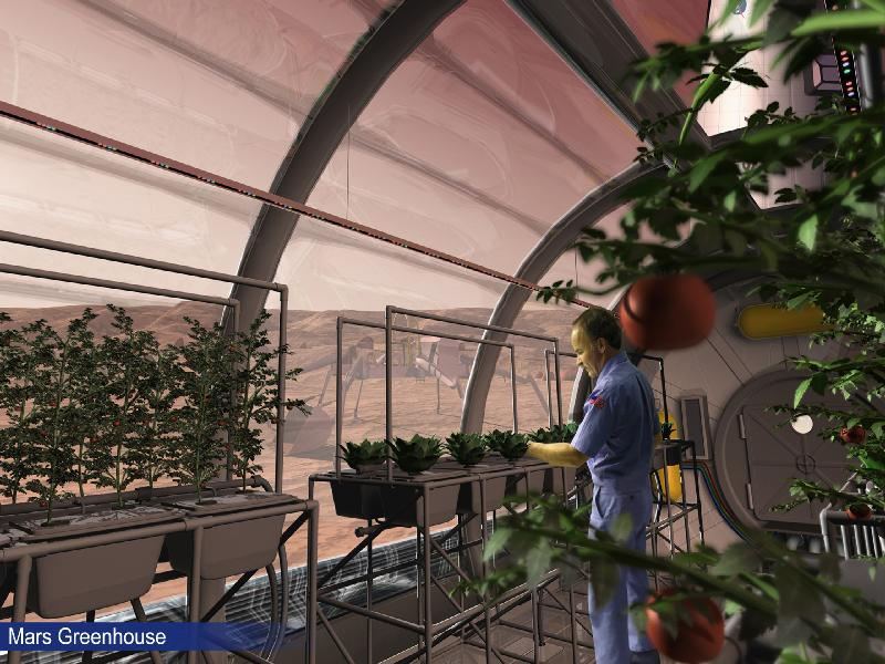 Nasa wants to build a greenhouse on Mars in 2021