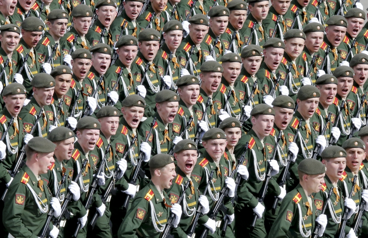 Russia Marks Victory Day with Parade amid Ukraine Crisis