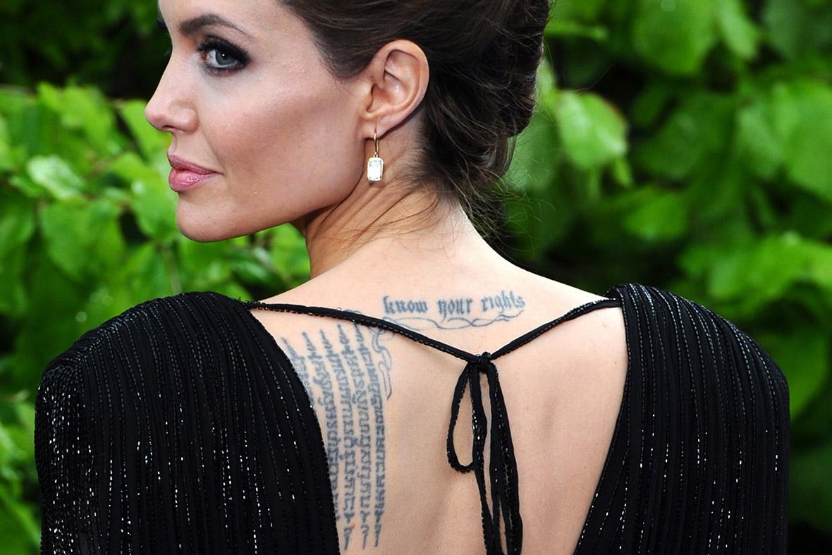 Celebrity star tattoos female with birds