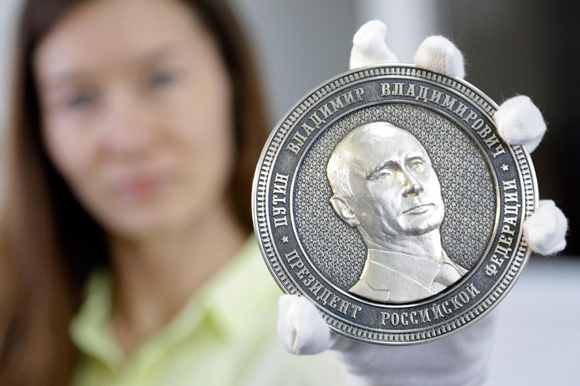 putin medal
