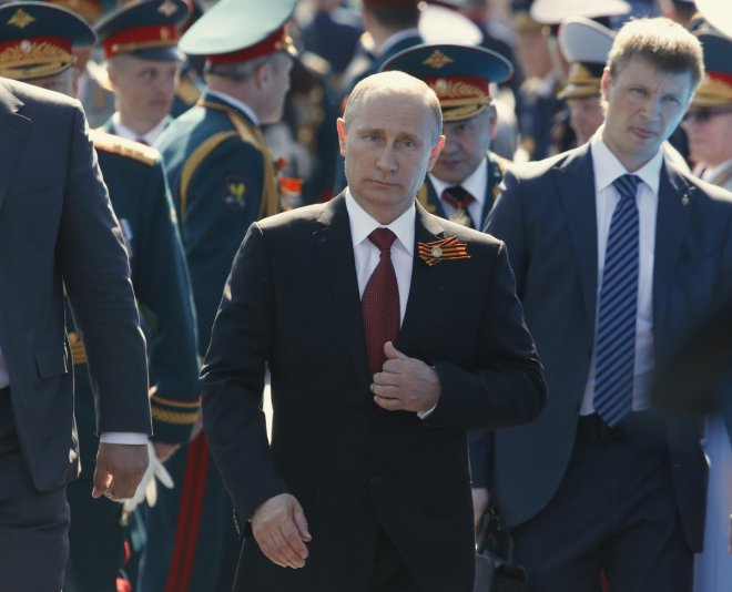 Russia Victory Day parade and Vladimir Putin's address