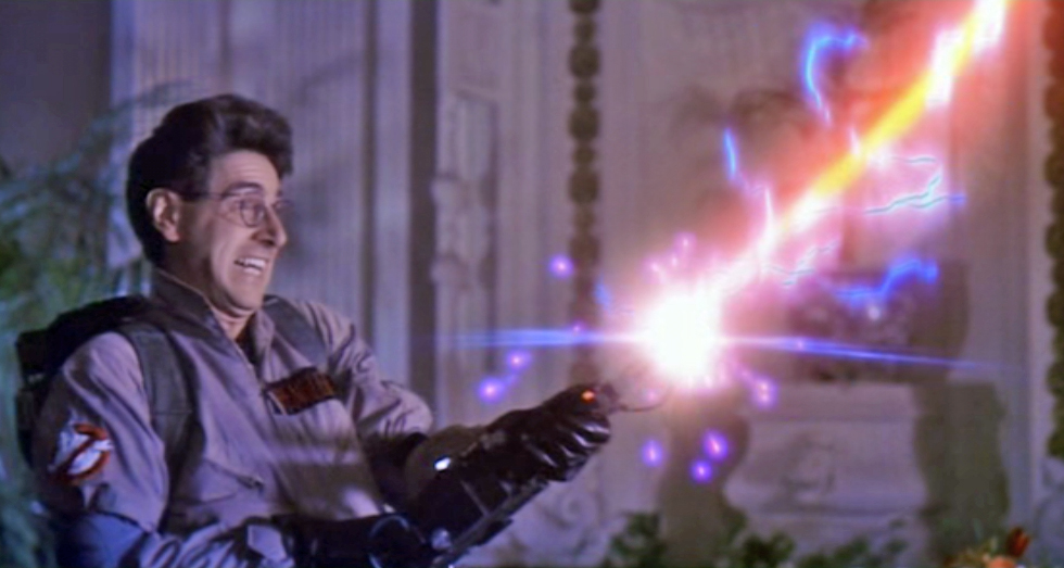 Dr Egon Spengler of the Ghostbusters