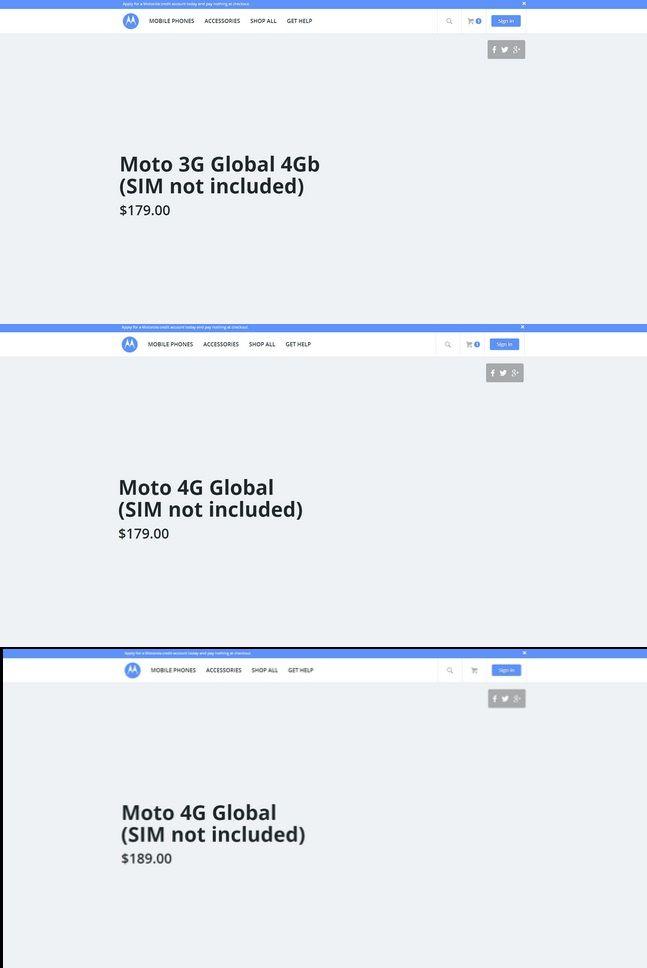 Motorola website