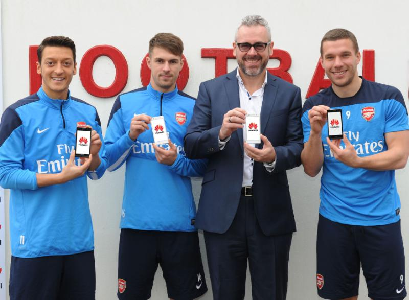 Huawei Sponsor Arsenal Football Club