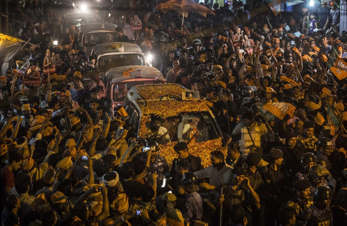 Narendra Modi Varanasi BJP
