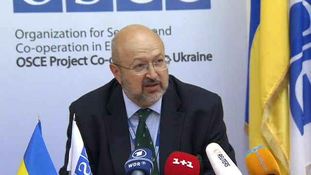 OSCE Discusses Roadmap with Ukrainian Government