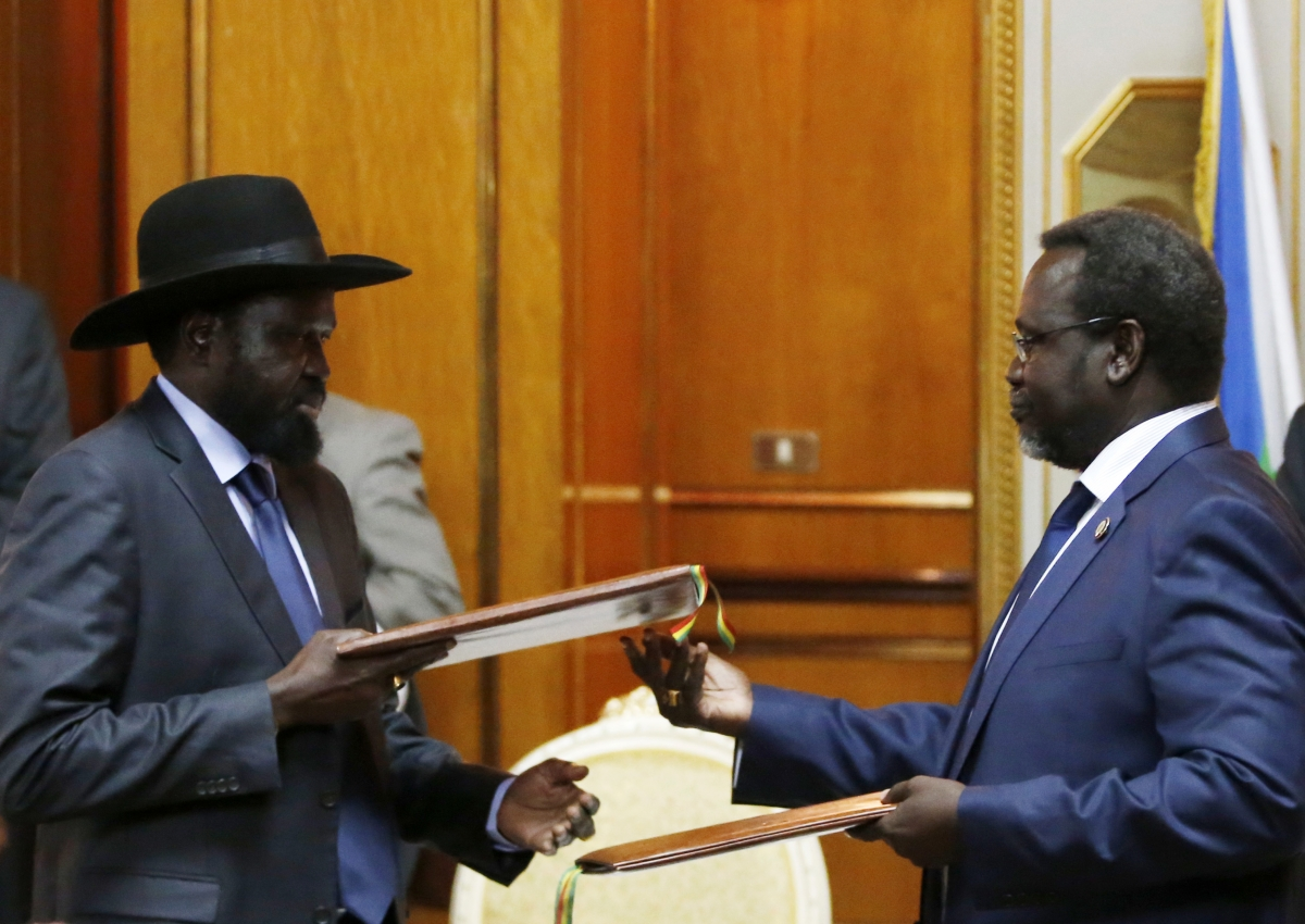South Sudan Conflict: Riek Machar and Salva Kiir Sign ...