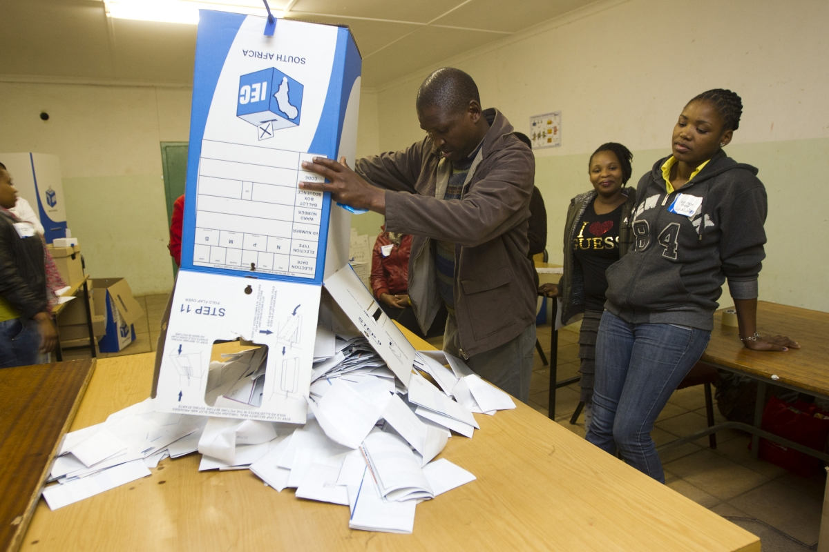 South Africa election results