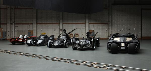 Batmobiles over the years
