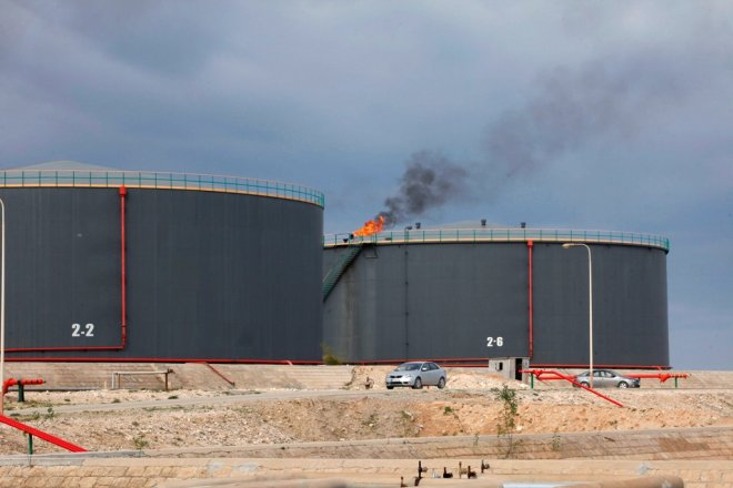Zawiya Oil Terminal Libya