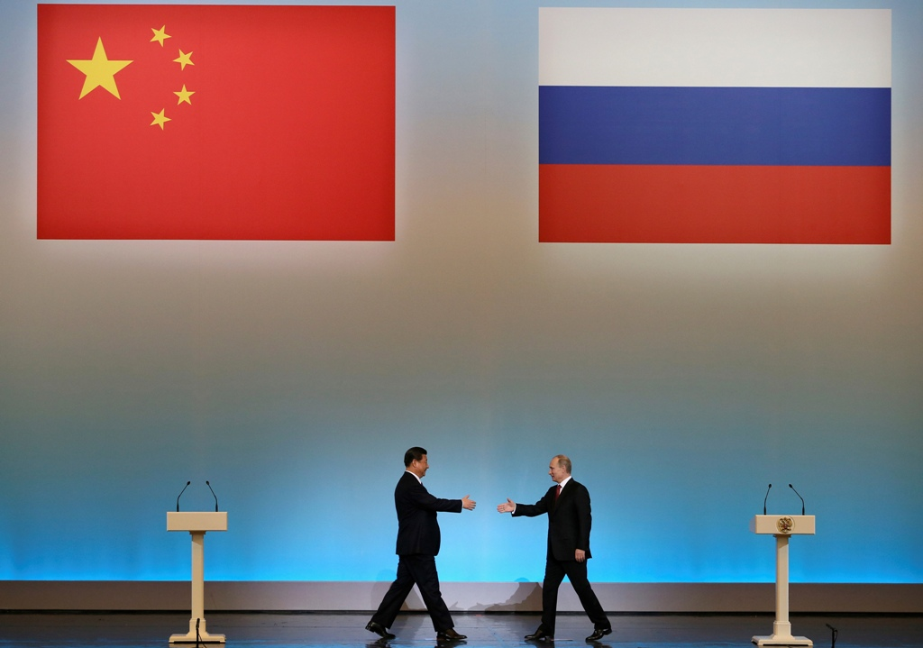 China Russia Presidents
