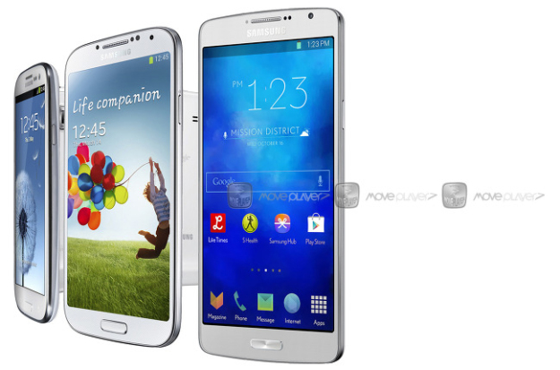 Galaxy S5 Prime, Galaxy K Mega and Galaxy K S5 Mini Display Details Leaked