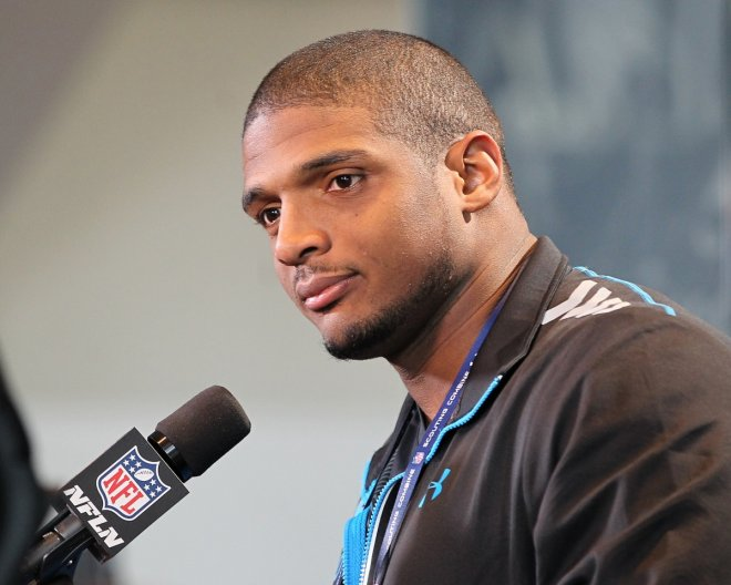 Michael Sam, who has become the first openly gay NFL player.