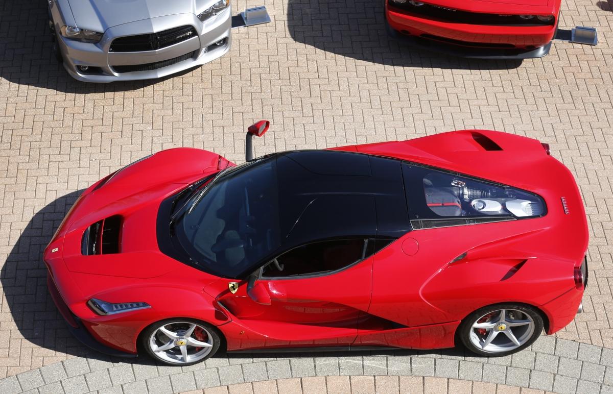 A limited edition Ferrari sports car.