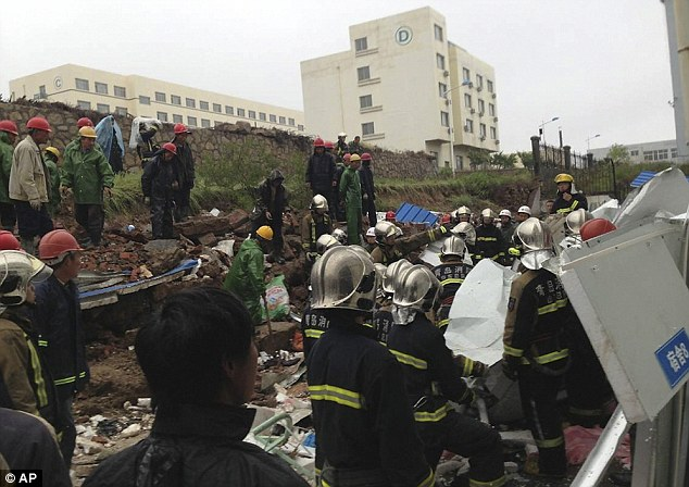 18 Workers Dead in China
