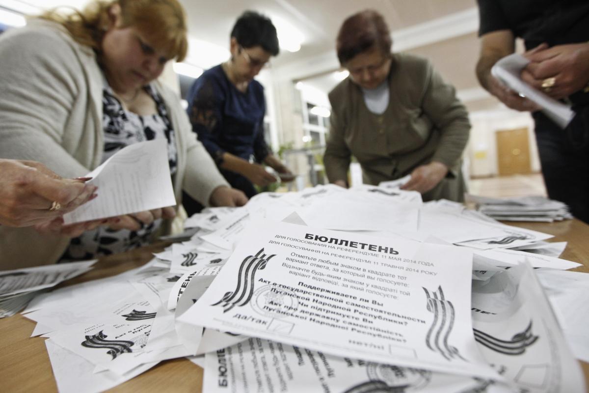 Ukraine rebels hold referendum in eastern region
