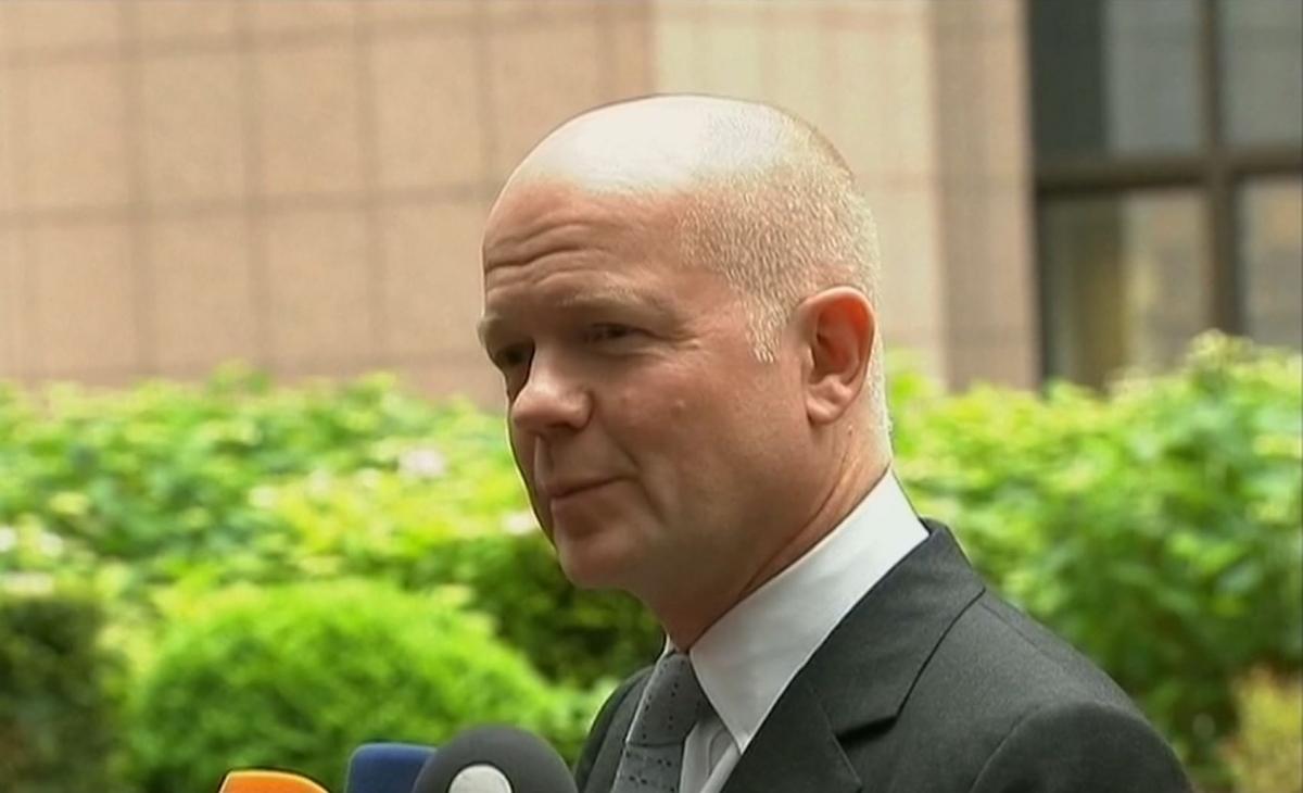 William Hague: Ukraine Rebel Referendum has Zero Credibility