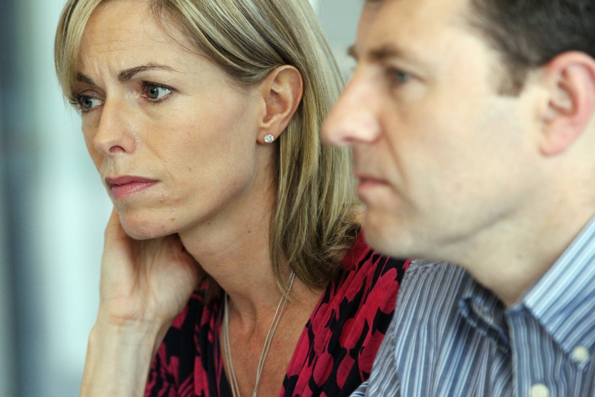 Gerry (r) and Kate McCann are due back in Lisbon for libel trial against author Gonçalo Amaral