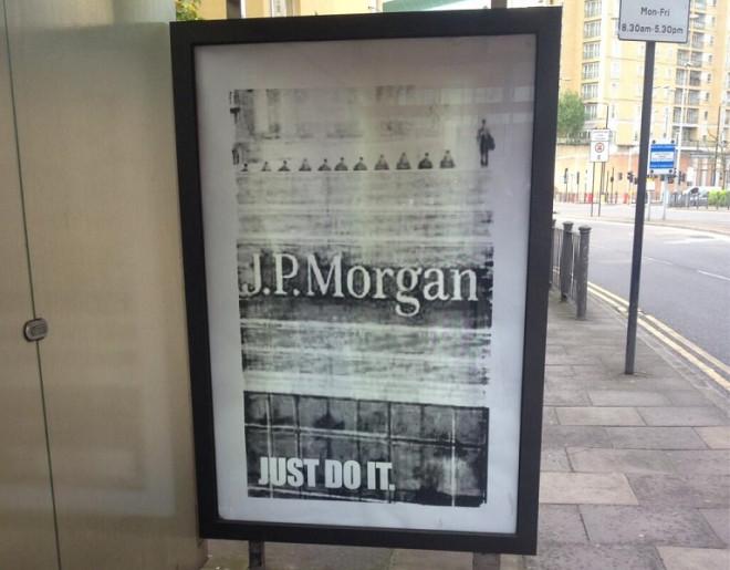 Jp Morgan poster