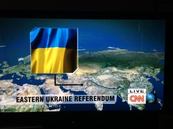 CNN point to Pakistan instead of Ukraine