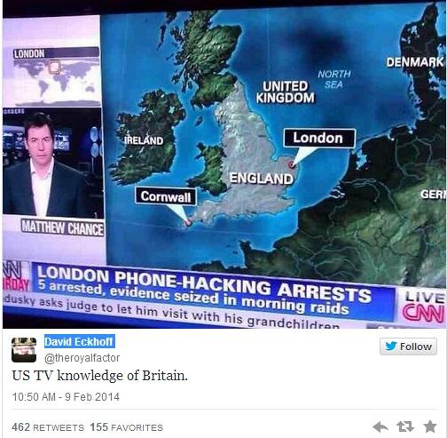 CNN's wrong London map