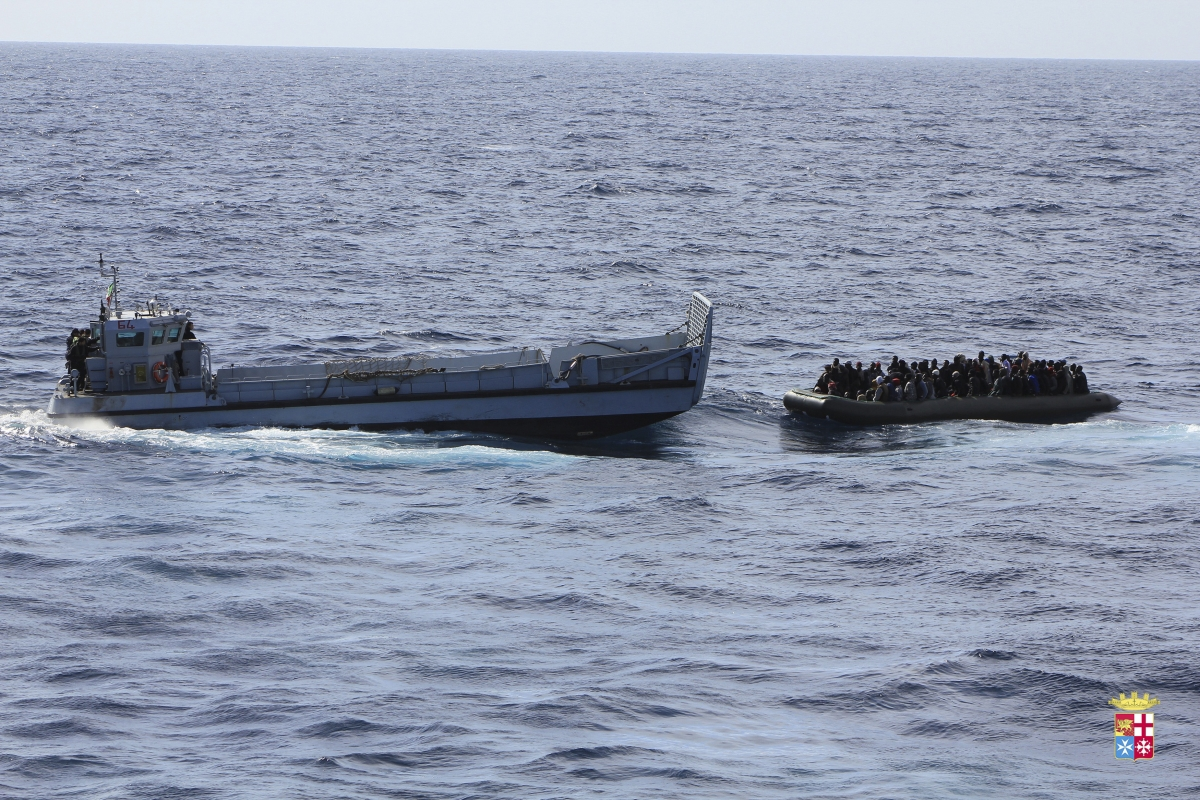 Migrants Boat Sinks Off Italian Island Lampedusa