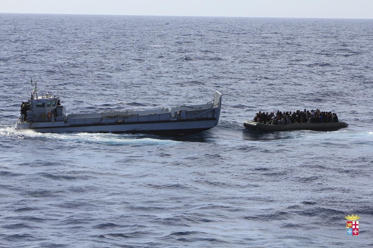 Migrants Boat Sinks Off Italian Island Lampedusa