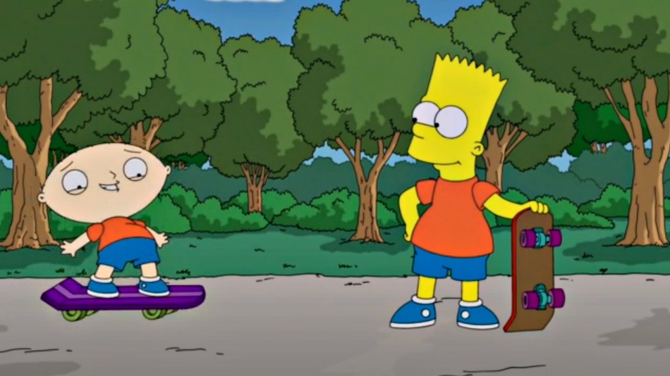The Simpsons Family Guy Crossover