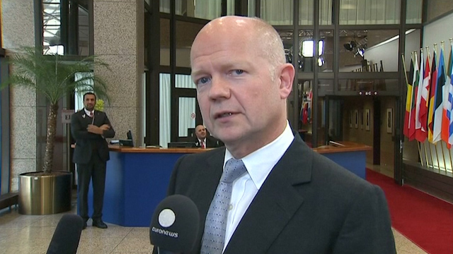Hague: Eurovision Votes More Credible Than Donetsk