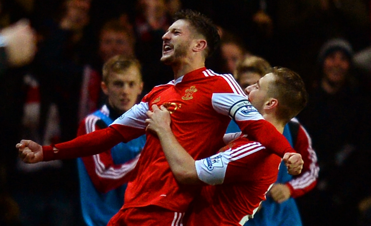 Adam Lallana-Luke Shaw