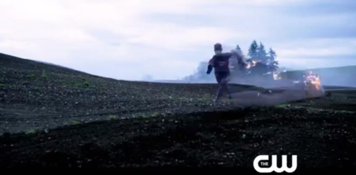 The Flash in Arrow Season 2 finale promo