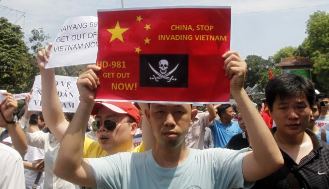 anti china protest hanoi