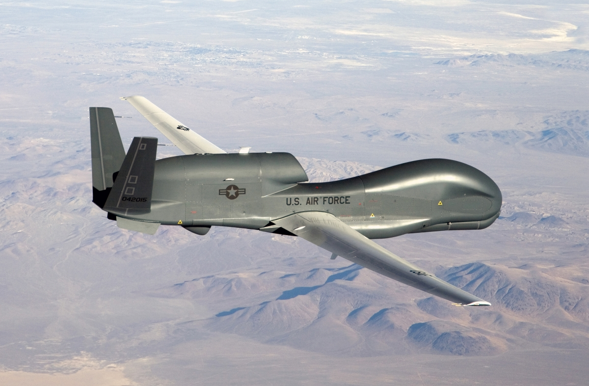 US drones based in Japan to start monitoring Chinese and North Korea's interests